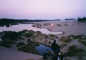 Night Riding On The Oregon Dunes