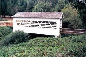 Remote Covered Bridge
