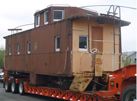 Southern Pacific Caboose At ODKOA