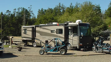 big boy sites at Oregon Dunes KOA